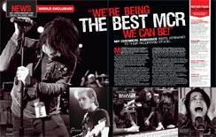 MCR In Kerrang! Magazine