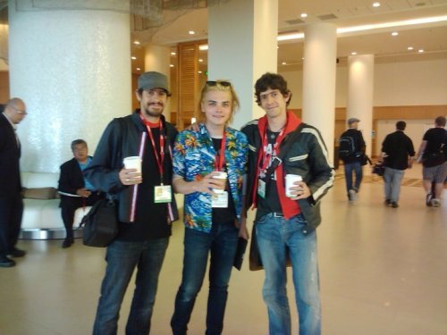 Gerard, Gabriel And Fabio At Comic-Con 2010