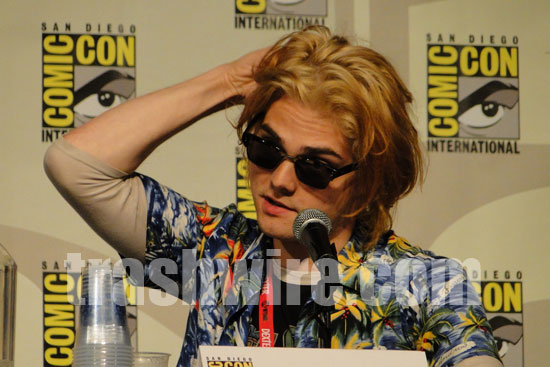 Comic Out Our Way Gerard Way at Comic-con 2010