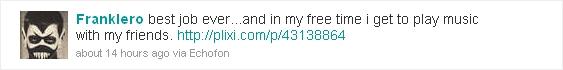 FrankIero's Twitter Feed