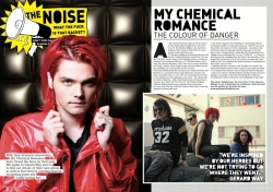 Rock Sound Magazine Feature
