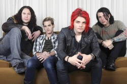 MCR At WB Records, Burbank. Taken November 16th 2010